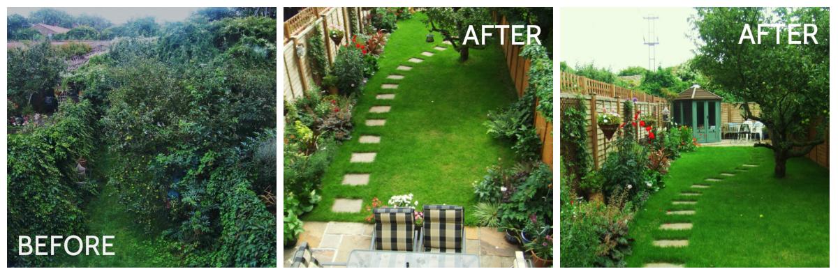 Garden Ideas Before And After backyard garden before and after. backyard garden ideas before and