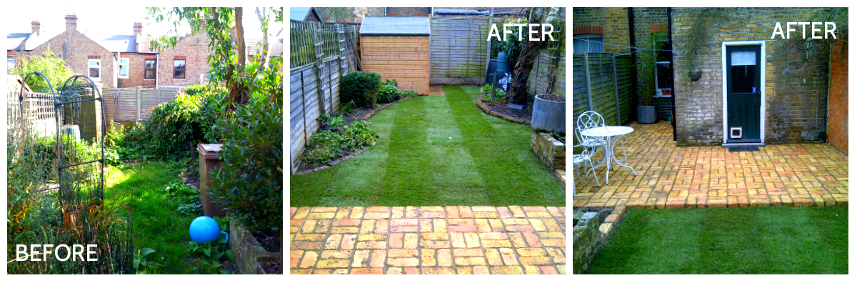 before after 2 - Backyard Garden Ideas Before And After